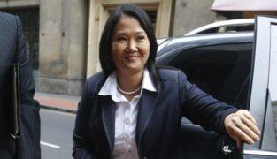 Keiko Fujimori cuestiona informe de la defensoría sobre indulto a su padre