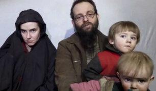 Liberan a familia que estuvo 5 años secuestrada por talibanes