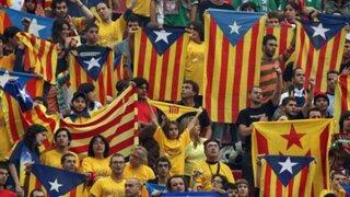 Independentistas exigen se proclame la República de Cataluña