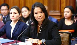 Keiko Fujimori respondió por más de 5 horas ante fiscal de lavado de activos
