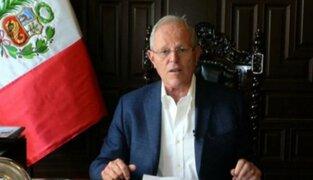 Presidente Kuczynski continuó con actividades en medio de crisis política