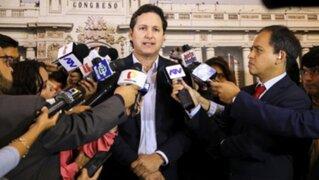 Maritza García debió renunciar a la Comisión de la Mujer, dice Salaverry