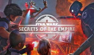 EEUU: Star Wars en realidad virtual llega a los parques Disney