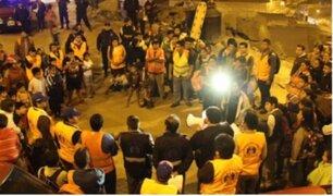 Se realizó simulacro de sismo, tsunami y deslizamiento de tierras a nivel nacional