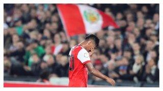 Selección bicolor: Renato Tapia se lesionó en partido del Feyenoord