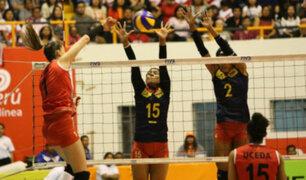 Perú cayó ante Colombia: cafeteras se impusieron 3-0 ante las 'Matadoras'