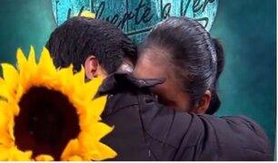 Reencuentro feliz: Lino conoce a su hermana por primera vez