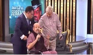 Juan Carlos Ferrando se muestra recuperado en Porque Hoy es Sábado con Andrés