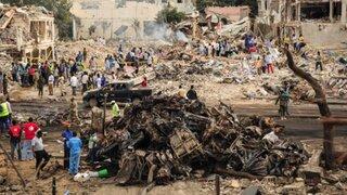 Atentados con camiones bomba dejan 215 muertos y 350 heridos en Somalia