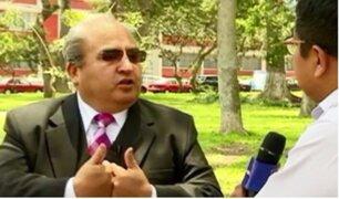 "Fiscal Juan Bautista Mendoza: amenazado de muerte por investigar a ""Barrio King"""