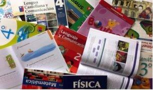Colegios públicos con libros deficientes: Minedu no detectó errores en textos repartidos