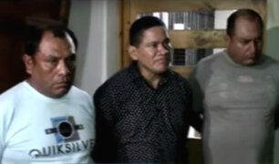 Villa María del Triunfo: capturan a delincuentes que asaltaban en lujoso auto