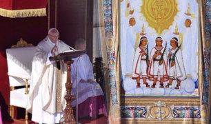 Vaticano: Papa Francisco canoniza niños mexicanos y mártires brasileños