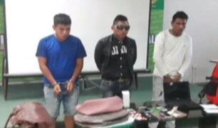 Piura: PNP captura a miembros de banda que asaltaron a clientes dentro de una clínica