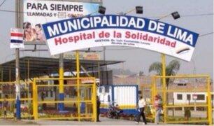 El Agustino: joven dio a luz y abandonó a bebé en baño de un hospital
