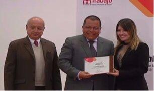 Panamericana TV fue reconocido por apoyo a damnificados de 'El Niño Costero'