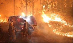 España: incendios forestales pone en vilo a todo Galicia