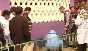 Rímac: hombre es asesinado en la puerta de un centro educativo
