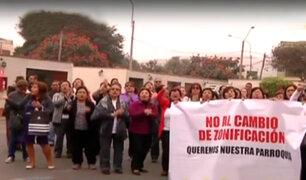 La Molina: vecinos protestan por cambios de zonificación