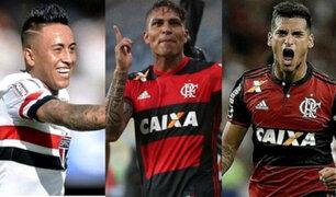 Guerrero, Cueva y Trauco figuran en el 11 ideal del Brasileirao