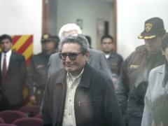 Terrorista Abimael Guzmán fue expulsado de audiencia del caso Tarata