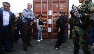 Callao: capturan banda que abastecía de droga al Cártel de Sinaloa