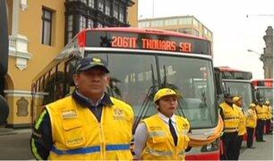 Municipalidad de Lima lanza servicio Semi Expreso 206 del Corredor Javier Prado