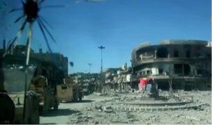 ISIS pierde el control en la ciudad de Raqqa