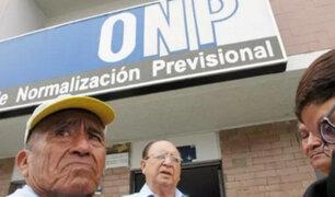 Economistas solicitan la desaparición de la ONP por falta de recursos