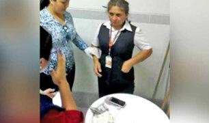 Tumbes: detienen a trabajadora judicial por recibir coima de 3 mil soles
