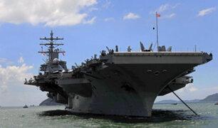 EE.UU: Trump moviliza 40 buques de guerra hacia Corea