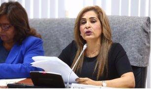 Tras insistencia de parlamentarios: Maritza García renunció a comisión de la Mujer