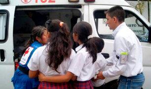 Tumbes: escolares se intoxican por consumir leche de Qali Warma