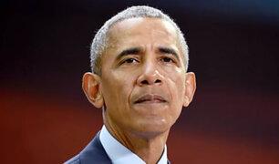 EEUU: Barack Obama regresa a la política a nueve meses de dejar la presidencia
