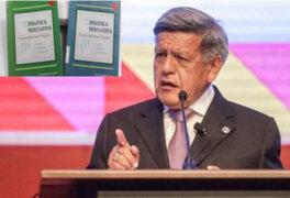 Declaran prescrito proceso contra César Acuña por plagio de libro