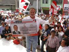 Alcalde Jorge Muñoz fue presentado como nuevo militante de  Acción Popular