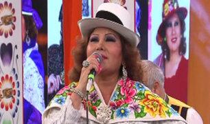 Amanda Portales deslumbra con su música en Porque Hoy es Sábado con Andrés