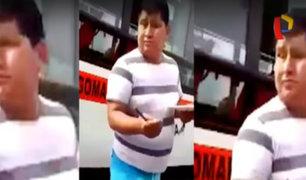 Los cupos del temible 'Popeye': extorsionador de taxistas y colectiveros
