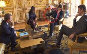 Perro del presidente de Francia se orinó en plena reunión de Gabinete Ministerial