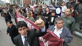 Trabajadores del Poder Judicial suspenden  huelga indefinida