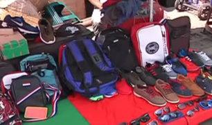 Cercado de Lima: ambulantes invaden vía pública cerca de Mesa Redonda
