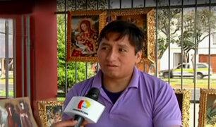 Artesano pide ayuda para el tratamiento de su hijo