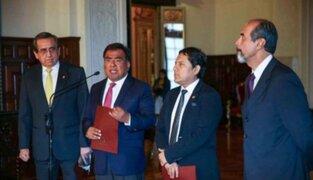 Apra no otorgará facultades legislativas al Gabinete de Mercedes Aráoz