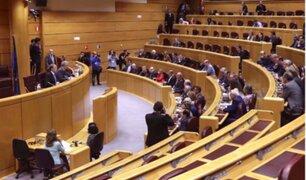 España: Senado ofrece a Puigdemont un debate con el gobierno
