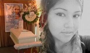 El Agustino: velan restos de mujer asesinada por su expareja