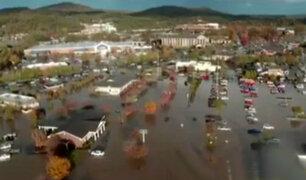 EEUU: tormenta deja graves daños en Carolina del Norte
