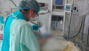 Bebé que fue ultrajada por su padre será trasladada a hospital de Lima