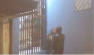 Ni Una Menos: sujeto golpea en el piso a mujer en Huancayo