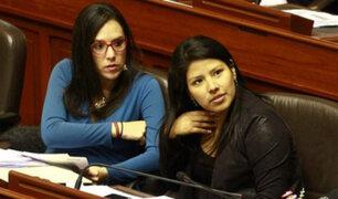 Congresistas Glave y Huilca denuncian irregularidades en proceso de indulto a Fujimori