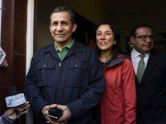 Nadine Heredia se reunió con Ollanta Humala y sus hijos en penal de la Diroes